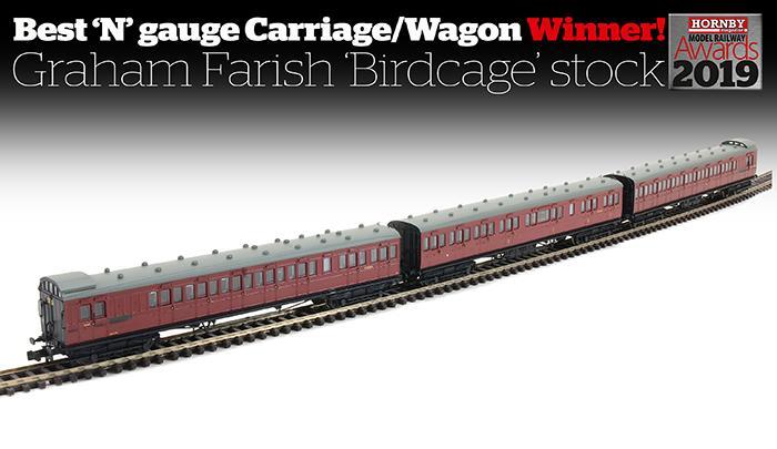 Best N gauge carriage