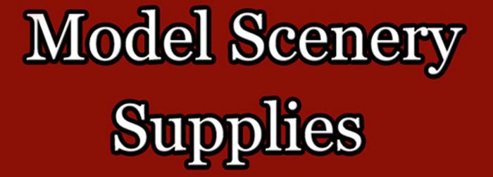 Model Scenery Supplies